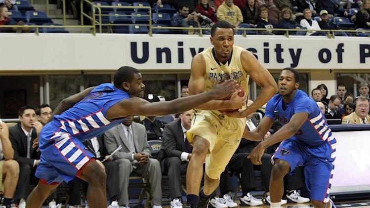 NCAA Basketball: DePaul at Pittsburgh