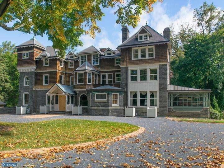 On the Market: Frank Furness-Modified Haverford Mansion Asks $2.5M