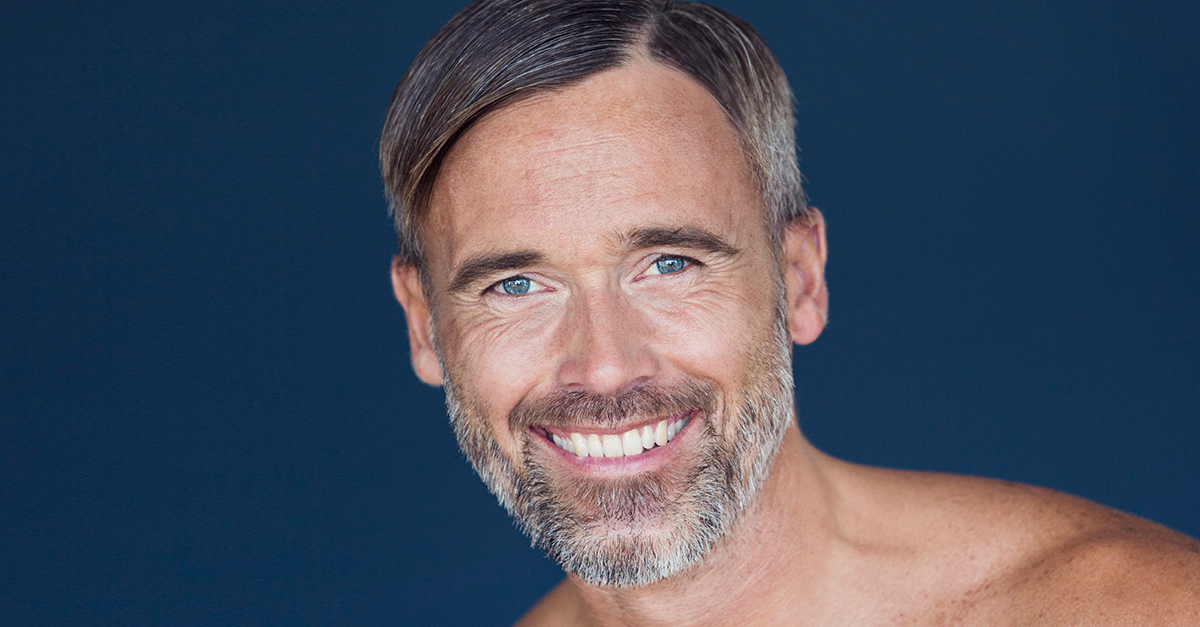 Men: How to Visibly Diminish The Look Of Wrinkles