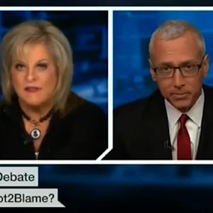 Nancy Grace And Dr. Drew Square Off Over Pot