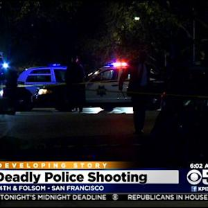Police Shoot, Kill Robbery Suspect Carrying Knife In San Francisco's Mission District