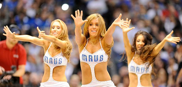 The Dallas Mavericks Dancers' new uniforms prove not everything's