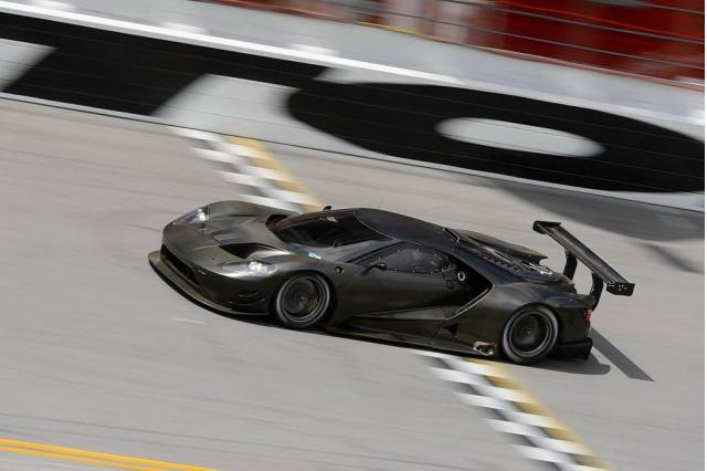 Ford Gives Insight Into Development Of New GT Race Car--Photo Update