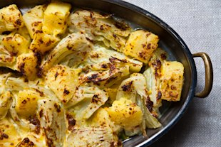 Potatoes and Fennel