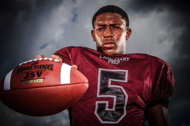 Ray Lewis III set a new county rushing record in front of his famous father — Orlando Sentinel