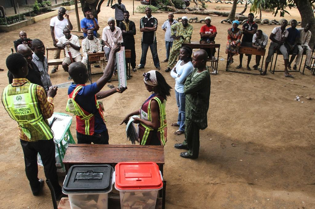 Nigeria in tense vote count after second day of polling