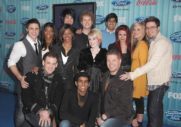 'Idol' Season 8 Top 13 Pa …