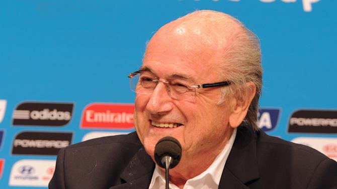 Blatter said a majority of national associations had given him support at the FIFA Congress in Sao Paulo in June, despite tensions with UEFA leaders
