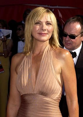 Kim cattrall Emmy Awards - 9/22/2002