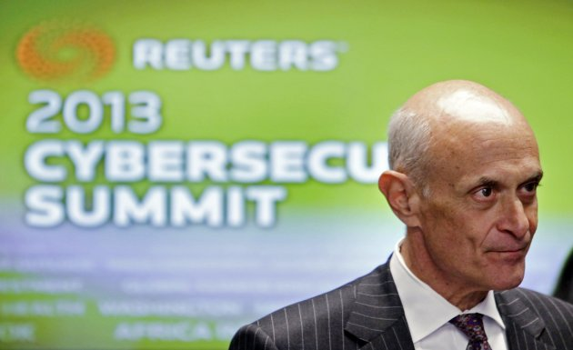 Former Homeland Security Secretary Michael Chertoff attends the Reuters Cyber Summit in Washington in this file photo