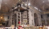Pope Benedict Celebrates Christmas Mass