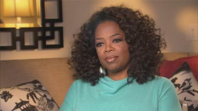 Oprah Winfrey chats with Access Hollywood's Shaun Robinson -- Access Hollywood