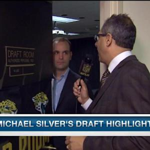 NFL Media's Michael Silver: Jacksonville Jaguars are trending in right direction