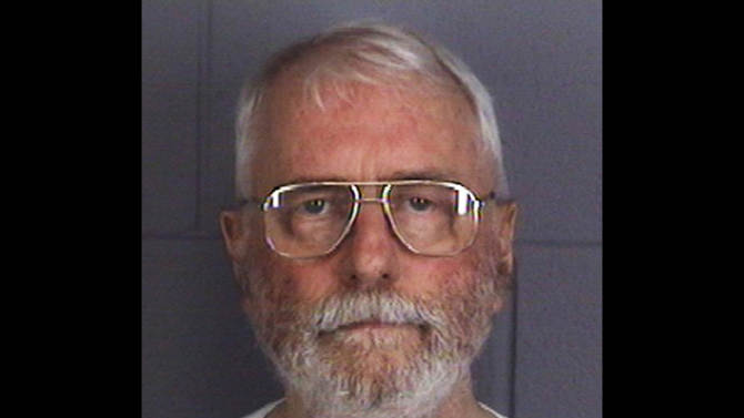 FILE - This July 27, 2011 file photo provided by the DeKalb County Sheriff's Department in Sycamore, Ill., shows Jack McCullough, of Seattle. On Thursday, Sept. 13, 2012, the defense rested its case on behalf of McCullough, 72, who is accused of killing 7-year-old Maria Ridulph, of Sycamore in 1957.  McCullough was arrested in Seattle in 2011 and returned to Illinois. (AP Photo/DeKalb County Sheriff's Department, File)