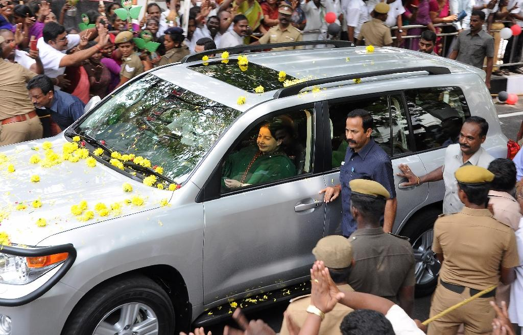 India Tamil leader returns as state chief after graft case