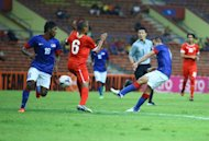 Norshahrul salvages point for Malaysia