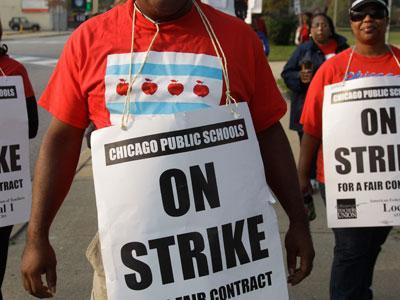 Chicago mayor: Court must end teachers' strike