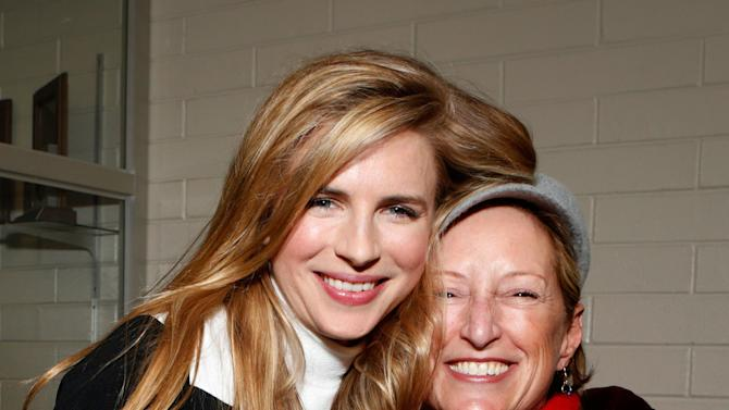 "Actress Brit Marling, left, and President of Production, Fox Searchlight Pictures Claudia Lewis attend Fox Searchlight's ""The East"" premiere during the Sundance Film Festival on Sunday, Jan. 20, in Park City, Utah. (Photo by Todd Williamson/Invision for Fox Searchlight/AP Images)"