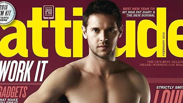 Matt Jarvis - Attitude magazine, February 2013