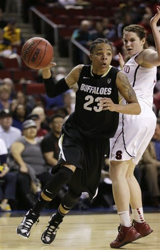 No. 4 Stanford outlasts No. 18 Colorado 61-47