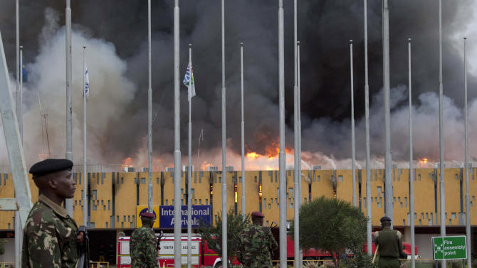 FBI: Kenya airport fire caused by electrical fault