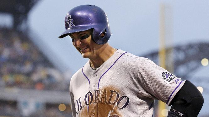 Big league batting leader Troy Tulowitzki on DL