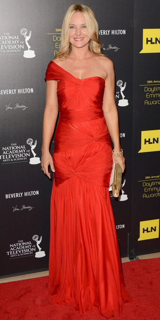 Sharon Case at the 2012 Daytime Emmy Awards