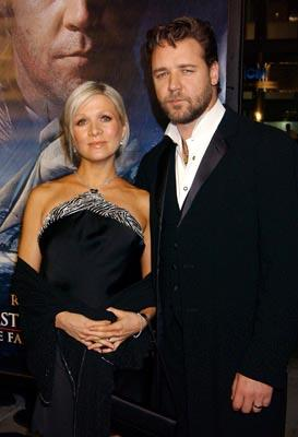 Danielle Spencer and Russell Crowe at the LA premiere of 20th Century Fox's Master and Commander: The Far Side of the World