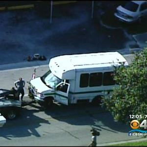 Several People Injured After Bus Crash