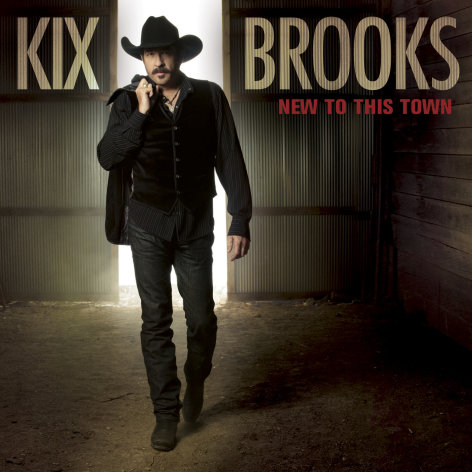 "This CD cover image released by Arista shows the latest release by Kix Brooks, ""New to this Town."" (AP Photo/Arista)"
