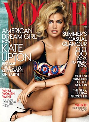 Kate Upton goes 'Vogue,' covering its June issue