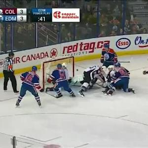 Reto Berra Save on Ryan Nugent-Hopkins (10:25/3rd)