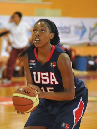 Providence Day and USA star Jatarie White &#x2014; USA Basketball