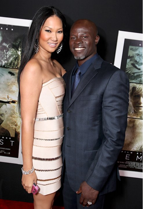 Kimora Lee, Djimon Hounsou