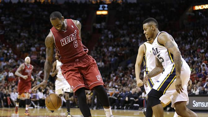 Sick Vogel, sore LeBron both in for Heat-Pacers