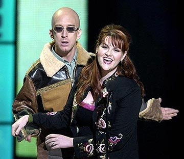 Andy Dick and Sara Rue VH-1 Big in 2002 Awards - 12/4/2002