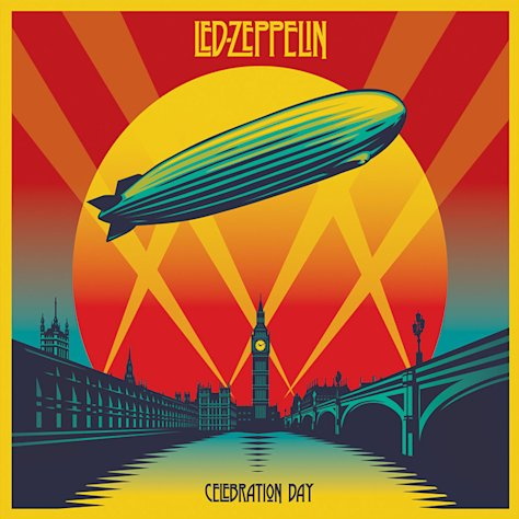 This cover image released by Atlantic Records shows the box set for Led Zeppelin&#39;s &quot;Celebration Day.&quot; (AP Photo/Atlantic)