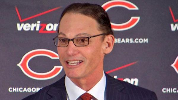 Marc Trestman introduced as Chicago Bears head coach