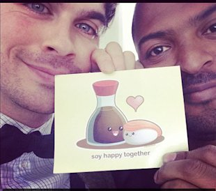 Ian Somerhalder Continues To Have Fun In London As Filming For The Anomaly Draws To An End
