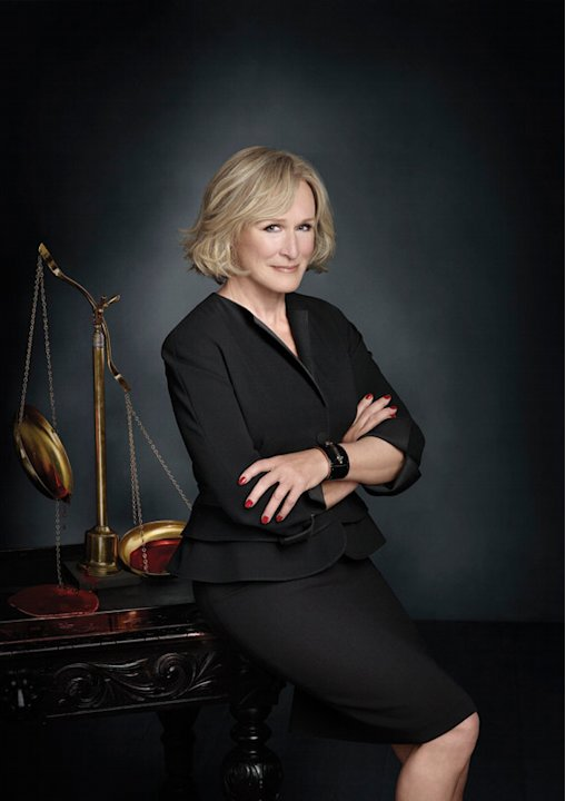 "Glenn Close in season 4 of ""Damages."""
