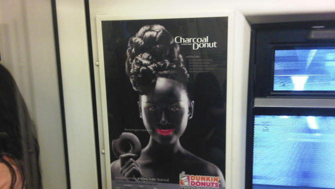 Dunkin' Donuts apologizes for blackface advert