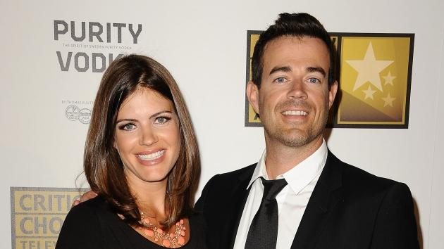 Carson Daly and Siri Pinter attend the Critics' Choice Television Awards at The Beverly Hilton Hotel in Beverly Hills on June 18, 2012  -- Getty Premium