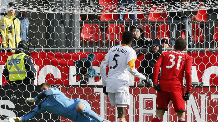 MLS: Houston Dynamo at Toronto FC