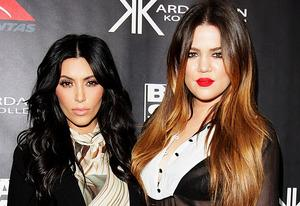 Kim Kardashian and Khloe Kardashian Odom  | Photo Credits: Lisa Maree Williams/Getty Images