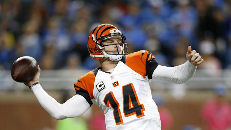 Bengals lead division by 2 games near midpoint