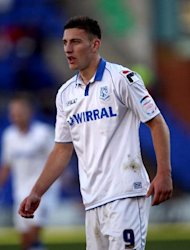 Jake Cassidy rescued a point for Tranmere