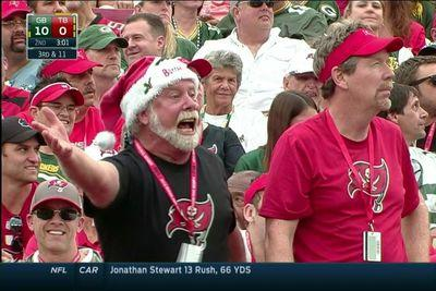 TAMPA CLAUS is furious about something