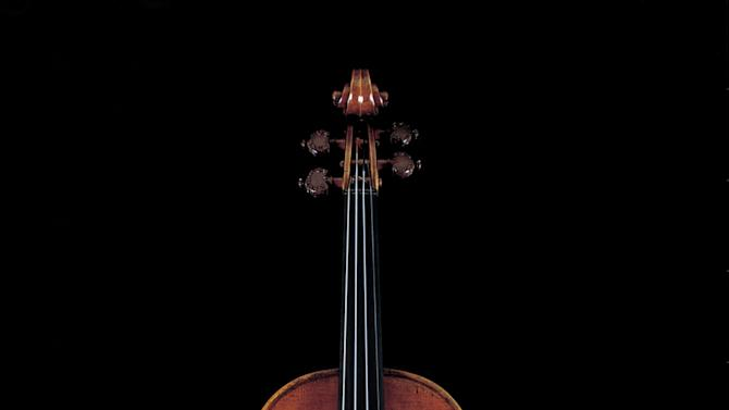 """In this photo taken in 2008 and released by Nippon Music Foundation, """"Lady Blunt,"""" a 1721 Stradivarius violin, is shown in Tokyo. The Japanese music foundation has sold a renowned Stradivarius violin for US$16 million at a London auction to raise money for tsunami disaster relief. The nonprofit foundation said Tuesday, June 21, 2011, the proceeds from selling the nearly 300-year-old violin will go to relief projects in northern Japan where the deadly earthquake and tsunami hit on March 11. (AP Photo/Nippon Music Foundation, S. Yokoyama) MANDATORY CREDIT"""