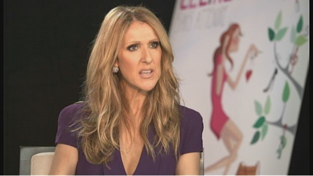 Celine Dion there to &quot;show support&quot;