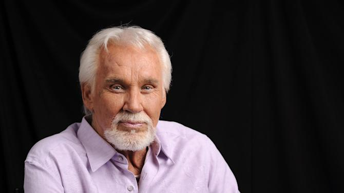 """This Sept. 4, 2013 photo shows country music artist Kenny Rogers at The Hot Seat in Nashville, Tenn. Rogers' latest album, """"You Can't Make Old Friends,"""" was released on Oct. 8. (Photo by Donn Jones/Invision/AP)"""